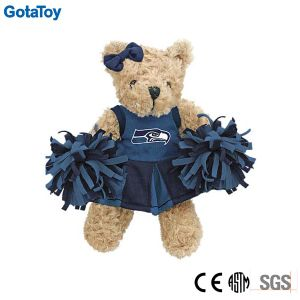 Custom Soft Toy Plush Cheerleader Teddy Bear Stuffed Toy pictures & photos