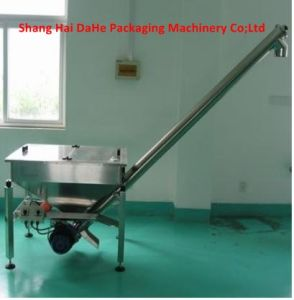 Stainless Steel Inclined Screw Conveyor GS-2s with Square Hopper pictures & photos