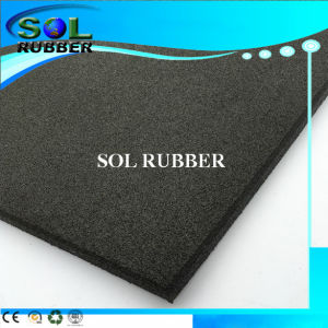 Ce Certificated High Flexibility Gym Floor Rubber Tile pictures & photos