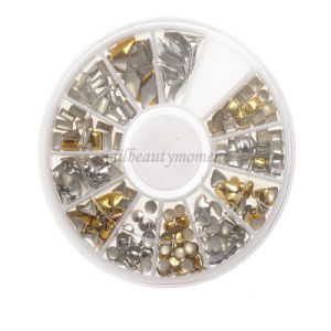 Metallic Nail Art Studs Decoration Beauty Manicure Accessories (D85)
