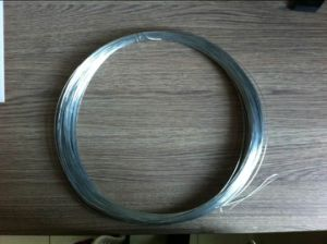 25kg/Coil 16 Gauge Hot Dipped Galvanized Steel Iron Wire pictures & photos