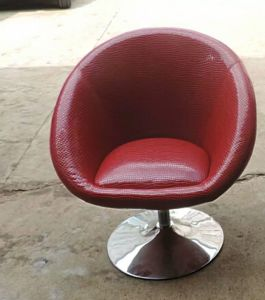 Club Chair, Bar Chair, Leather Chair with Stainless Steel (FY03) pictures & photos