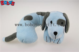 Softest Baby Neck Pillow Plush Stuffed Blue Dog Travel Neck Support pictures & photos
