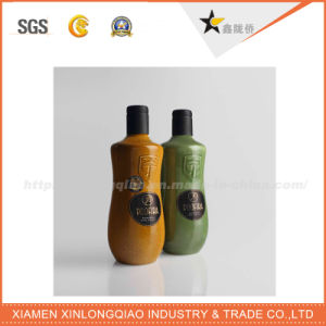 Customized Chemicals Transparent Glass Bottle Sticker, Glass Sticker Label pictures & photos