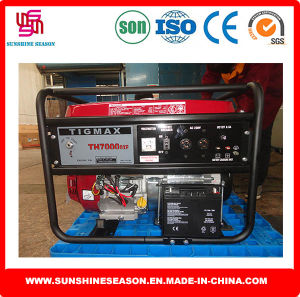 Tigmax Petrol Generator 5kw Key Start for Power Supply (TH7000DXE) pictures & photos