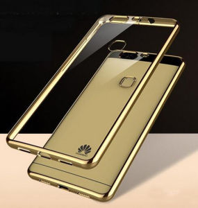 Electroplating Mobile Phone TPU Case for Huawei P9 Lite pictures & photos