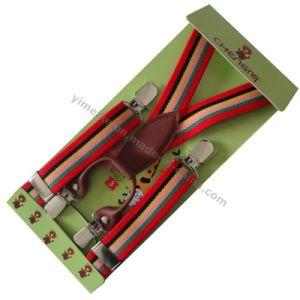 Fashion Striped Designs Children Elastic Suspenders pictures & photos
