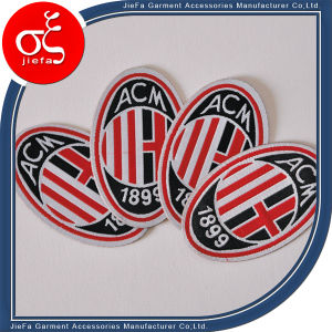 Custom Woven Patch/  Football Soccer Woven Badge pictures & photos