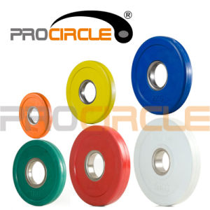 Small Size Olympic Competition Bumper Plates (PC-BP1046) pictures & photos