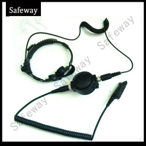 Two Way Radio Heavy Duty Throat Microphone for Gp328 pictures & photos