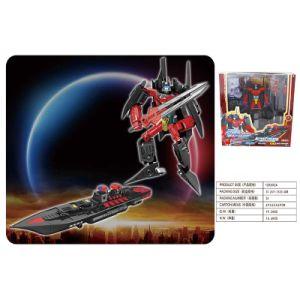 Super Man Plastic Model Deformation Robot Vessel Warship Toy