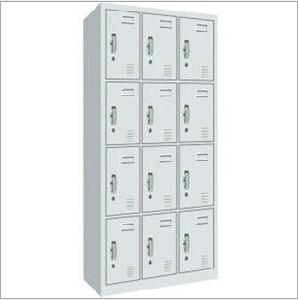 12 Doors Metal Wardrobe with Locker