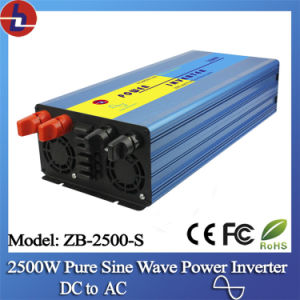 2500W 24V DC to 110/220V AC Pure Sine Wave Power Inverter