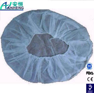 "Polypropylene Pleated Bouffant Cap, Disposable, 19"" Diameter pictures & photos"
