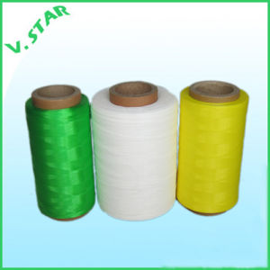 Polyethylene (HDPE) Monofilament Flat Yarn pictures & photos