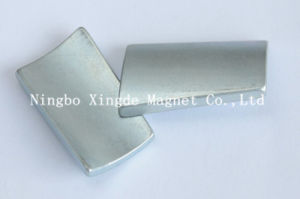Motor Arc Magnet Sintering Strong Magnet Use in DC Motor
