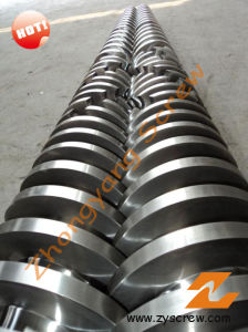 Conical Twin Screw and Barrel for PVC Pipes pictures & photos