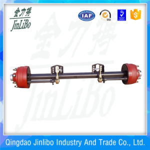 8t Capacity Solid Square Beam Agriculture Trailer Axle pictures & photos