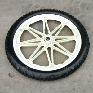 20X2.125 16X2.125 Square PU Foam Tire with Nylon Wheel pictures & photos