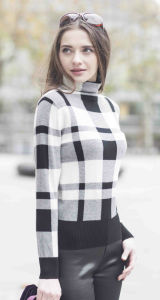 Ladies′ Cashmere Sweater with Turtleneck (1500002012) pictures & photos