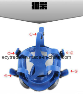 Full Face Gas Mask Facepiece Respirator Spraying Paint pictures & photos