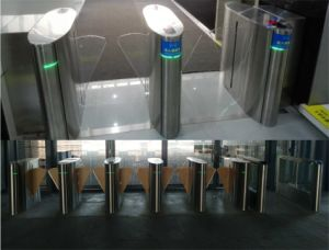 Security Flap Gate with Access Control System pictures & photos