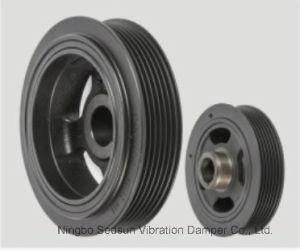 Torsional Vibration Damper / Crankshaft Pulley for Toyota 13470-22041 pictures & photos