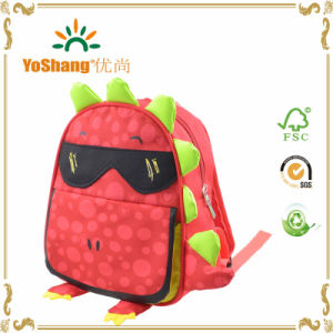 Amazon Hot Selling Animal Printinig Recyclable Fashion Kids School Bag pictures & photos