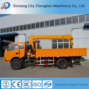 5ton Truck Mounted Crane with Dongfeng 4X2 Truck Chassis pictures & photos