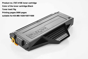 Toner Cartridge 410 for Panasonic Fat-410e pictures & photos