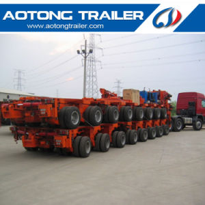 200 Tons 8 Line 16 Axles Hydraulic Steering Modular Semi Trailer pictures & photos