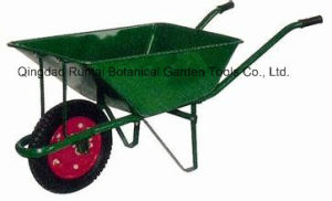 Hot Sell Metal Tray and Frame Pneumatic Wheel Wheelbarrow (WB2200) pictures & photos