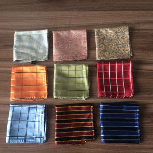 Silk Jacquard Hankie pictures & photos