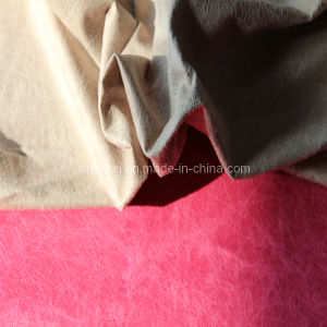 Tricot Suede Fabric for Garment pictures & photos