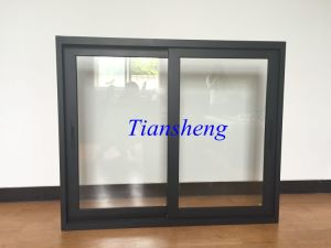Australia Standard High Level 100f Series Aluminium Sliding Window Glass Window for Commercial and Residential Building pictures & photos