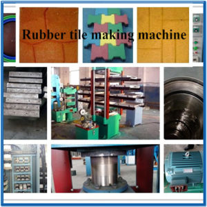 Xlb600X600 Hydraulic Press Rubber Tile Making Machine with Two Years Warranty pictures & photos