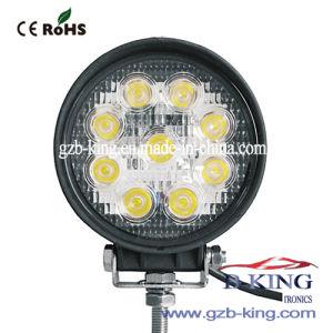 IP67 27W Round Epistar LED Work Light pictures & photos