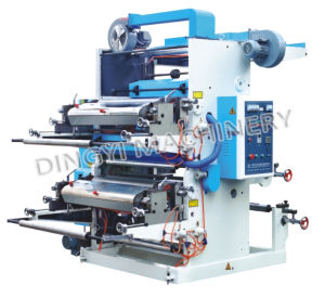 Two Color Plastic Flexo Printing Machine pictures & photos