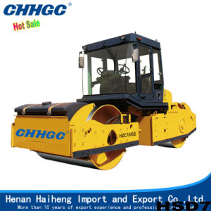 Hot Outlet Road Machine with Mechanical 2 Drum Vibrating Roller pictures & photos