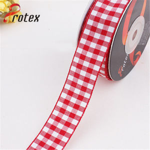 Wholesale Plaid Ribbon pictures & photos