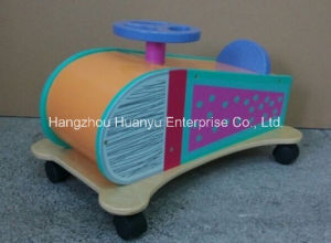 New Design Factory Supply Ride on Glide-Wooden Plane with Wheels pictures & photos