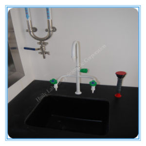 Laboratory Chemical Resistant Three Way Swan Neck Water Faucet pictures & photos