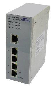 Industrial 5-Port Management Ethernet Switch