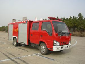 Isuzu 12000L Foam / Water Tank Fire Vehicle (SXF5250GXFPM120W / SXF5250GXFSG120W)