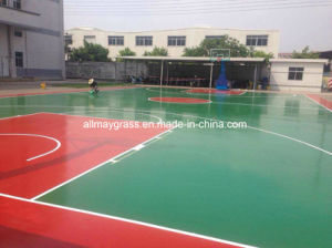 3-5mm Thickness Waterproof Basketball Sport Surface