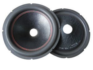 10inch Speaker Parts/ Subwoofer Parts Foam Edge Paper Cone-Speaker Parts Cone pictures & photos
