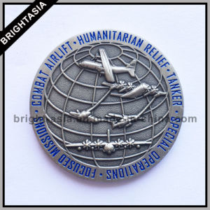 Two Sided Metal Souvenir Coin for Aircraft Gift (BYH-101170) pictures & photos