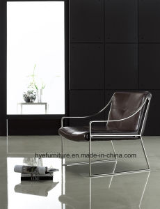 New Design Chrome Leisure Armchair for Living Room (T081) pictures & photos