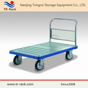 Metal Folding Platform Handtruck From Tr-Rack pictures & photos
