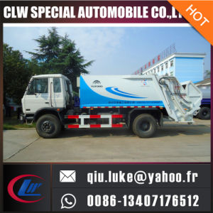 Factory Sale Hook Lift Side Loading Garbage Compactor Truck pictures & photos
